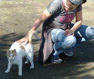 Gabi meets Angel