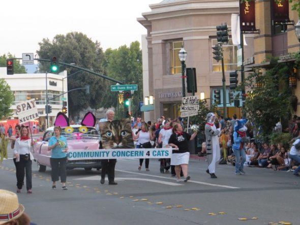 Walnut Creek Twilight Parade