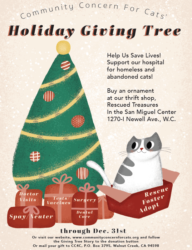 Community Concern for Cats Giving Tree